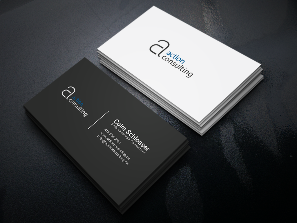 Action consulting business card pranjtech business card print templates stationery design colourmoves