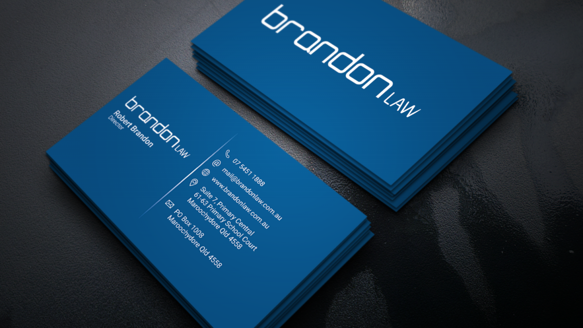 Brandon Law Business Card – Pranjtech
